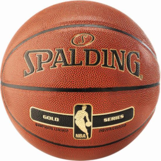 Spalding košarkaška lopta NBA Gold indoor/outdoor 76-014z