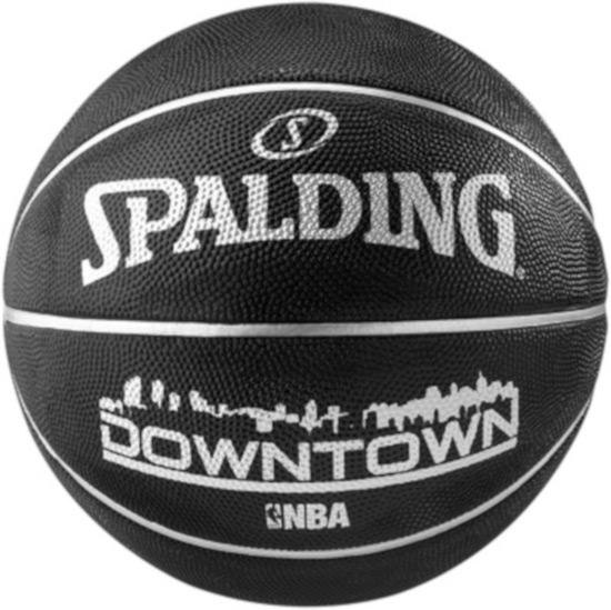 Spalding košarkaška lopta DOWNTOWN black 83-205z