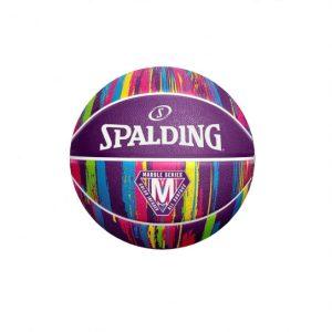 Spalding kosarkaska lopta Marble series purple